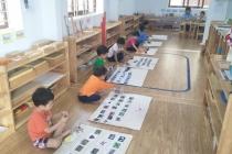 Giờ học của các bé lớp SS2